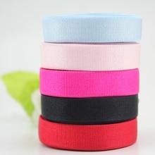 12 мм сплошной цвет эластичная лента 10 ярдов бюстгальтер плечевые ремни нижнее белье стрейч плечевой ремень швейная эластичная лента
