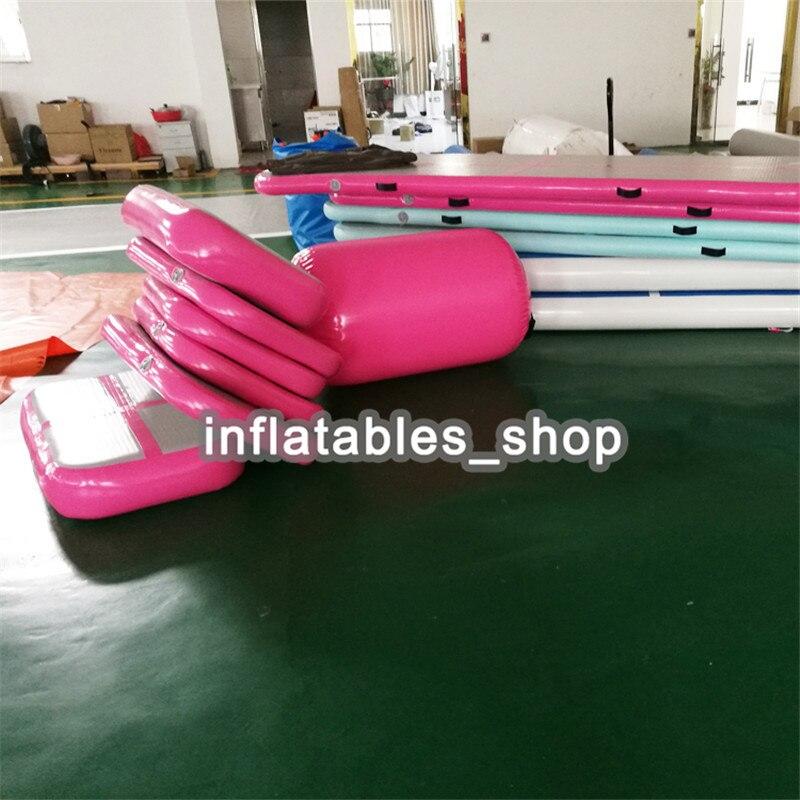 Livraison Gratuite Orang-Linge De Gymnastique Gonflable Air Bloc, 20 cm Épaisseur Gonflable Matériel De Gymnastique Bloc De L'air Pour Vente - 6