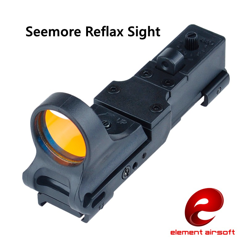Elemen SeeMore Reflex Kereta Api C-MORE Sight Red Dot Sight Black EX 182