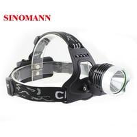 3 Modes Waterproof 2500Lm XM-L2 T6 CREE LED Headlight Headlamp Flashlight Head Torch Light Lamp Bicycle Bike Light Torch set