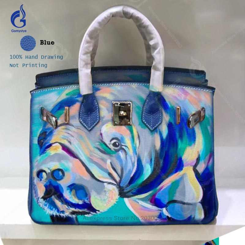 Detail Feedback Questions about Women bags Genuine Leather Art Oil ... 16d9766884929