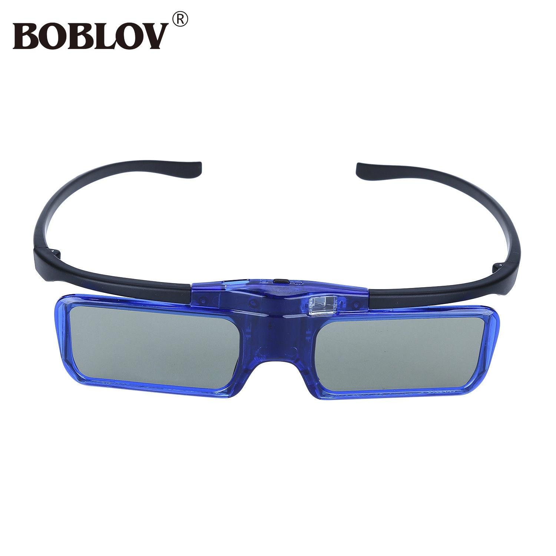 Boblov Mx30 3d Glass Dlp-link 96hz-144hz Usb Rechargeable Active Shutter 3d Glasses For Projector Dlp Movies Games Cheap Sales 50% Consumer Electronics 3d Glasses/ Virtual Reality Glasses