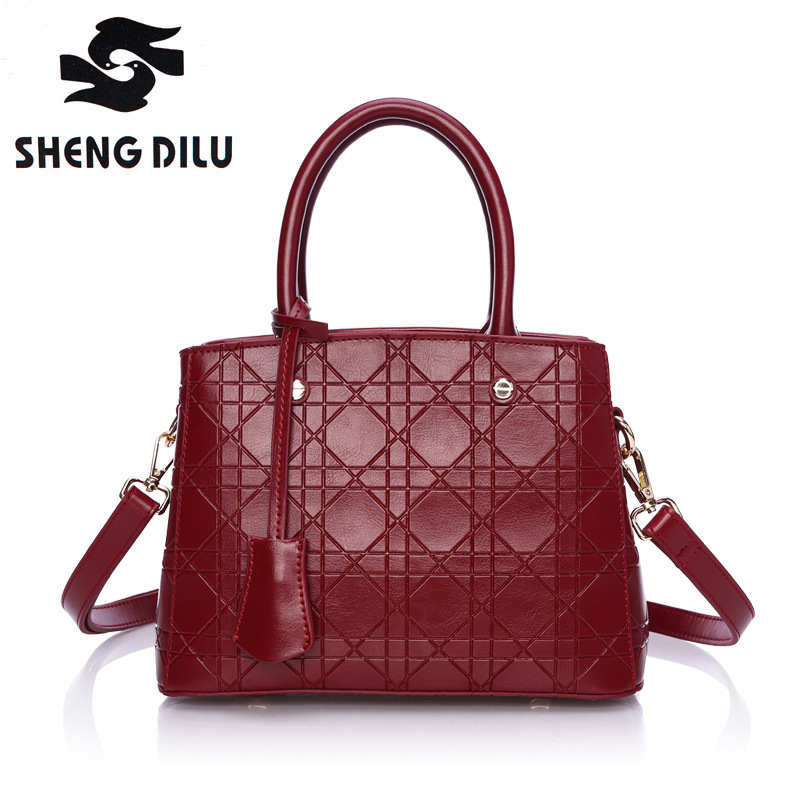 Top-Handle bags inclined shoulder ladies hand bag Women Genuine leather handbag sac 2016 woman bags handbags women famous brands 2017 boston women messenger bags inclined shoulder ladies hand bag women leather handbag woman bags handbags women famous brands
