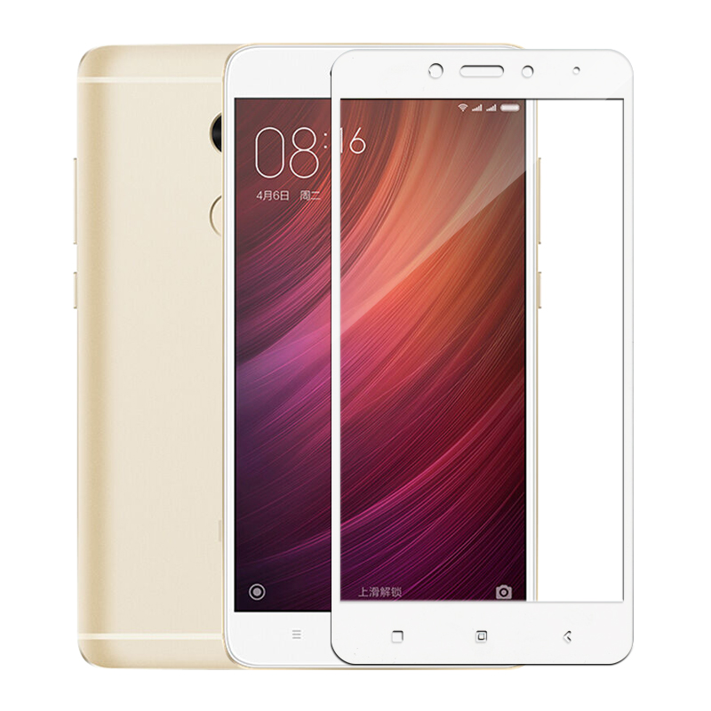 Image 4 - Full cover tempered glass for xiaomi redmi 4 note 4 4x screen protector on xiomi ksiomi note4 x4 gals on no 4 x protective film-in Phone Screen Protectors from Cellphones & Telecommunications
