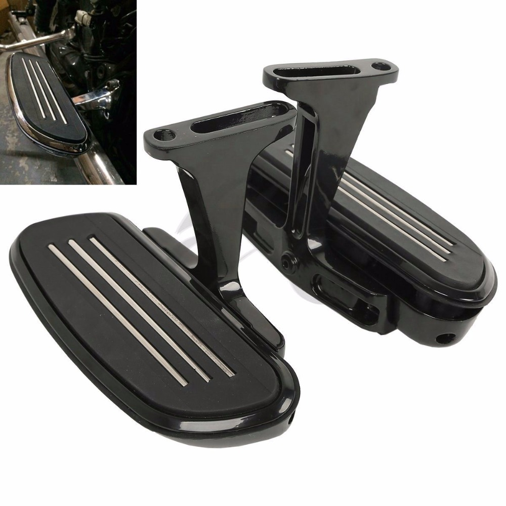 Frames & Fittings Motivated Motorcycle Streamline Passenger Floor Board Bracket Set For Harley Touring Electra Street Road Glide Road King 1993-2018 Bringing More Convenience To The People In Their Daily Life