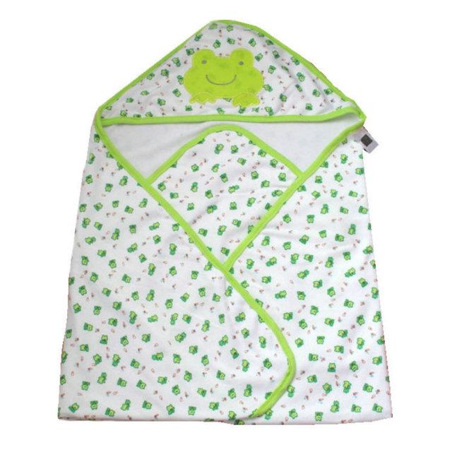 70*70 cm Duas Camadas 100% Algodão Cobertor Do Bebê Recém-nascido Cobertor Do Bebê Receber Cobertor Macio Animal Dos Desenhos Animados Do Bebê Da Cama SAD-4099