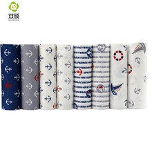 New Cotton Fabric Patchwork Cartoon Tissue Cloth Of Handmade DIY Quilting Sewing Baby&Children Sheets Dress 40*50cm 8pcs/lot(Hong Kong,China)