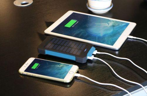 Водонепроницаемый 12000 мАч Dual USB Solar Power Bank Портативный Внешний Зарядное Устройство горячей Продажи высокого качества 2016 новые ожидаемые