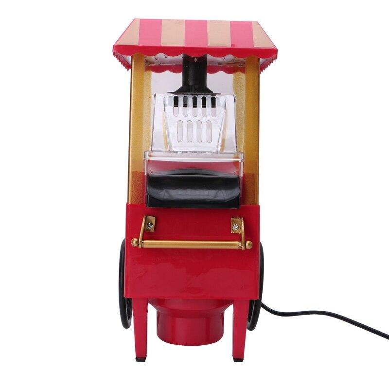 110V 220V utile Vintage rétro électrique pop-Corn Popper Machine maison fête outil ue Plug bricolage maïs Popper enfants cadeau Air chaud - 5
