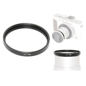 Image 4 - 37mm 0,45x super szeroki kąt obiektywu w/makro dla Panasonic Lumix DMC LX7 LX7 aparat cyfrowy