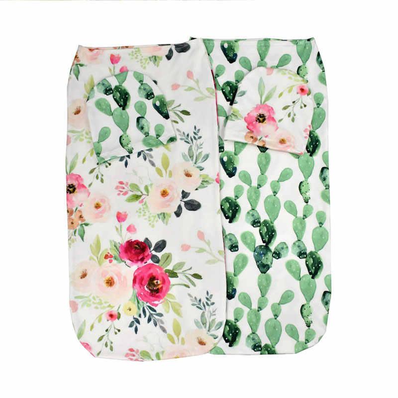 2 шт./компл. пеленка для новорожденных одеяло для сна сумка шляпа комплект пеленка для сна новорожденный пеленка муслиновая пеленка реквизит для фотографий