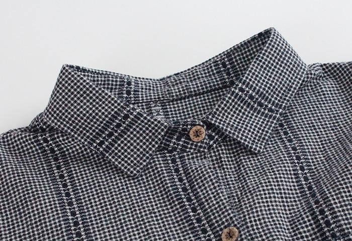 Ropa Nuevo Otoño borgoña 2018 Yj5104 Tops Muñeca Tamaño Plus La Camisa Larga Manga Blusa Negro Cuello Algodón Mujer Primavera De Lino ErTxRqEd