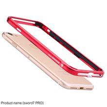 Original LJY Sword Pro For iPhone 7 4.7 inch Aluminum Bumper Frame Ultra Thin Hard Metal Protective Border For iPhone7