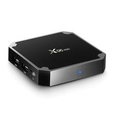 2,4 GHz WiFi HD 4K set de reproductor multimedia top Box Android 7,1 caja de TV Mini caja de TV Amlogic S905W 1 + 8G 2 + 16G Bluetooth apoyo