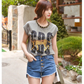 Шорты женщин 2016 свободного покроя джинсовые высокой талии тонкий синий короткие джинсы женщин летом короткие sl