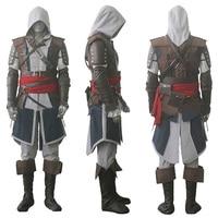 Assassin S Creed IV 4 Black Flag Edward Kenway Cosplay Costume Whole Set Custom Made Express