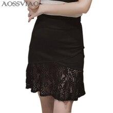 цены на VfEmage Womens Elegant Tartan Solid Work Business Casual Slim Stretch Fitted Bodycon Knee Length High Waist Pencil Skirt  5XL  в интернет-магазинах