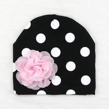 Sunlikeyou New Winter Baby Girl Hats For Kids Newborn Caps Cotton Soft Elastic Toddler Flower Beanie Bonnet Warm Infant Hat