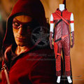 Green Arrow Season 3 Season 4 Cosplay Red Arrow Roy Harper Speedy Costume Uniform Outfits Hoodies Halloween Party Fast Shipping