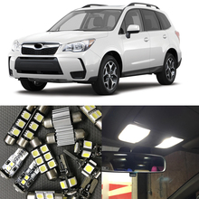 2009 subaru forester interior. 10pcs auto interior led blub lamp kits for 20092014 subaru forester map dome trunk license plate 12v car light styling 2009