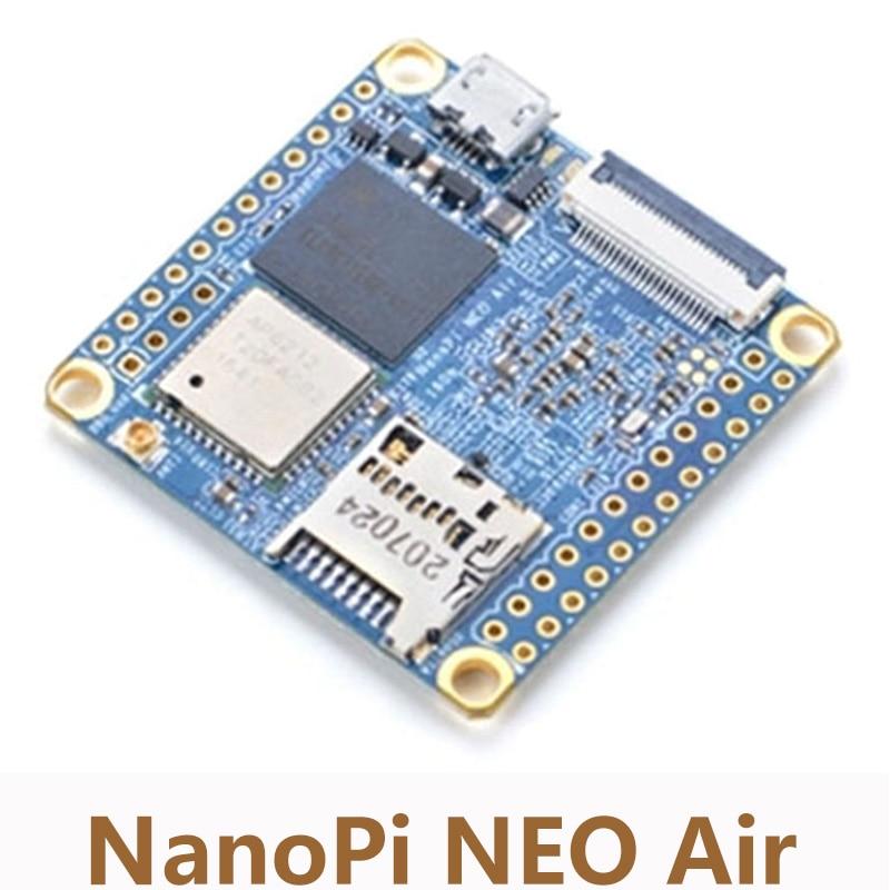 Carte de développement NanoPi NEO Air à bord Bluetooth Wifi Allwinner H3 Cortex-A7 Quad-core IoT 8G eMMC Super Raspberry Pi NP002