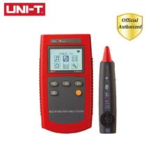 UNI-T UT681A Multi-Function Cable Finder Set Network Tester Cable Tester RJ45 RJ11 Wire Locator Detector Hunt Instrument mastech ms6818 wire cable tracker metal pipe locator detector tester