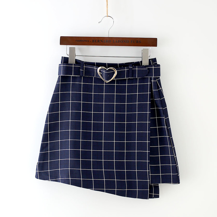 Summer Ladies Skirts Women Plaid Skirt 2017 Slim New Korean ...