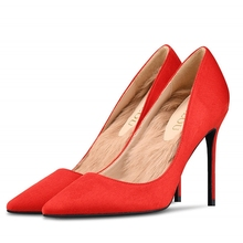 Women Pumps High Heels Shoes Woman Stiletto Pointed Toe Female Sexy Party Shoes Office Lady Wedding Plus Size J0011 mingdilin stiletto women s pumps high heels shoes wedding party woman shoes green black plus size 33 43 pointed toe sexy pumps