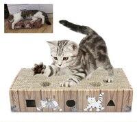 Fashion Cat Toys Pet Cats Scratch Board Cat Scratch Board Corrugated Paper Cat Supplies