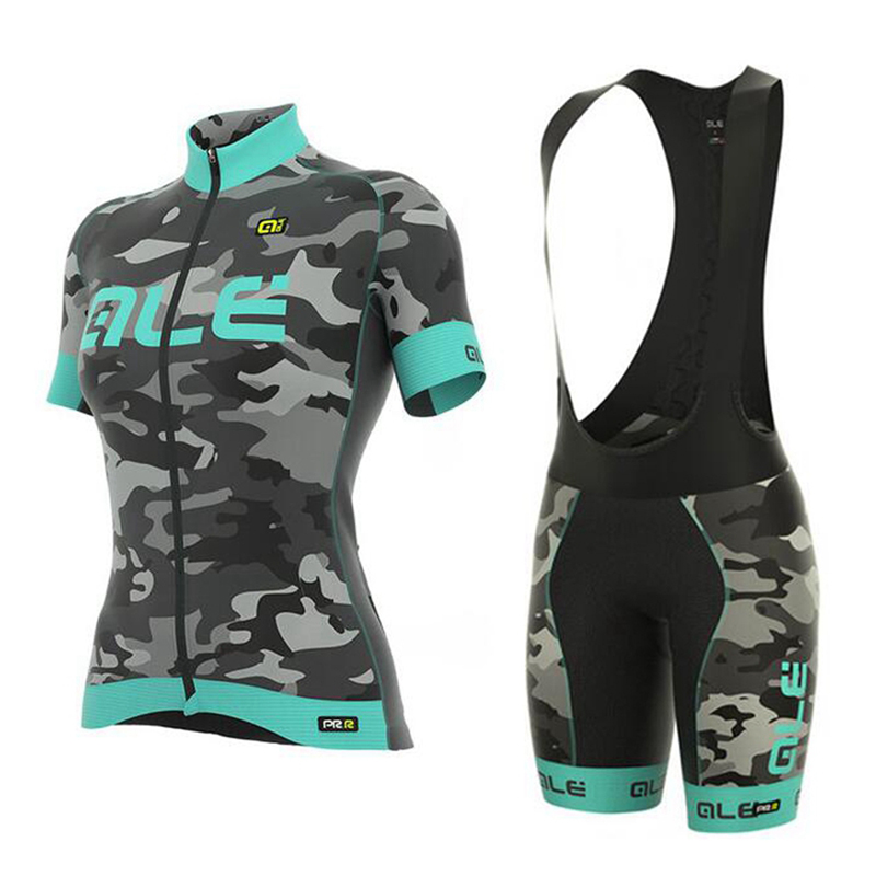 2017 Pro Cycling Jersey Short Set Women Breathable MTB Clothes Quick Dry Bicycle Summer Sportswear Bike Jerseys Ropa Ciclismo malciklo team cycling jerseys women breathable quick dry ropa ciclismo short sleeve bike clothes cycling clothing sportswear
