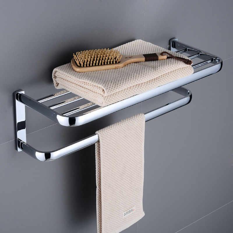 Akcesoria łazienkowe zestaw Chrome mosiądzu ręcznik wieszak na ręczniki wieszak ścienny uchwyt na papier wieszak na ręczniki mydło kosz łazienka półka sprzętu do kąpieli zestaw