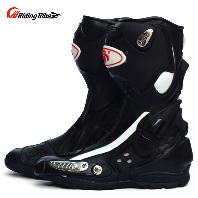 SPEED Motorcycle Boots Shoes Motocross Botas Moto Motoqueiro Motocicleta A10021 Botte Botas Para Moto Racing Men Shoes
