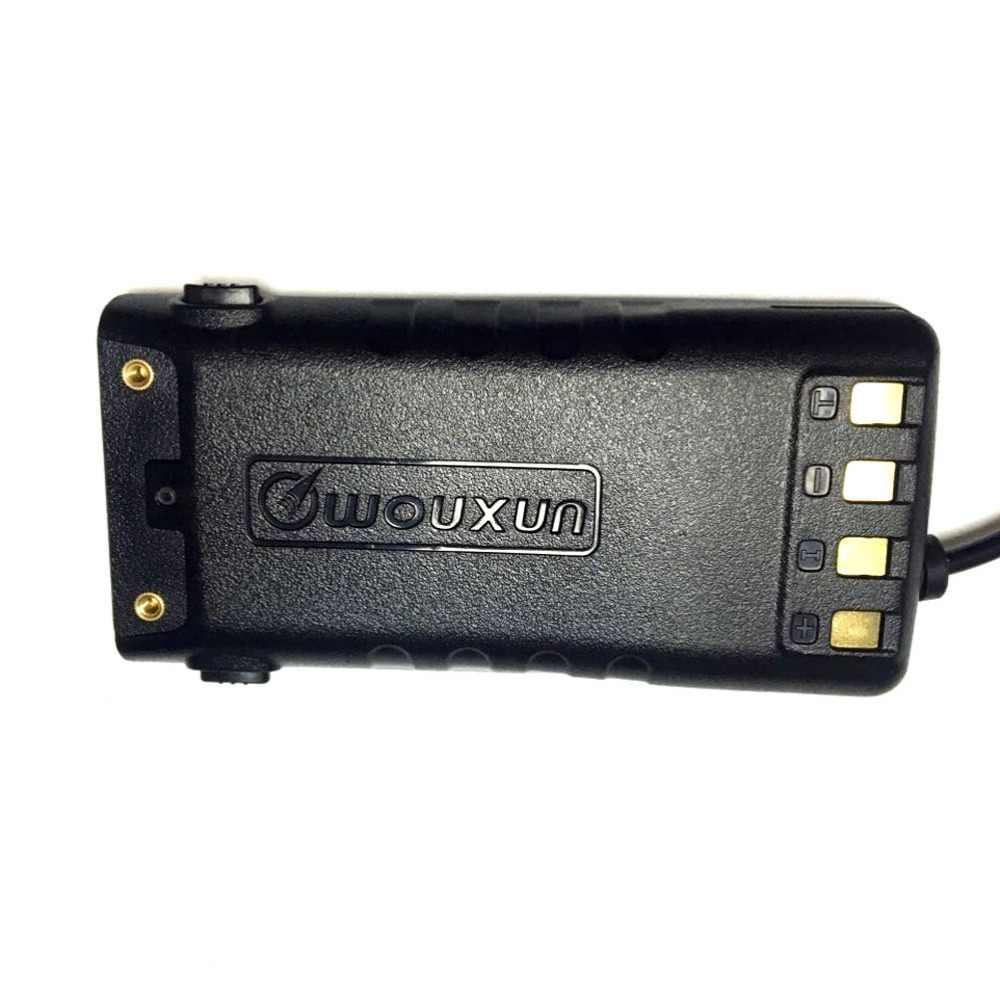 10 XOriginal WOUXUN talkie-walkie batterie éliminateur adaptateur voiture Charge pour KG-UV9D (Plus)/KG-UV9D jambon Radio Hf émetteur-récepteur