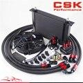25 ряд AN8 масляный радиатор двигателя/фильтр шланг для переноса + 7