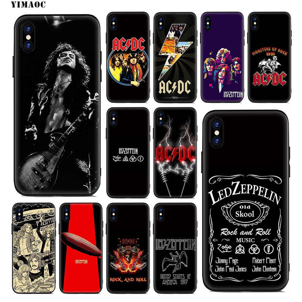 Rock Band Led Zeppelin For Apple Iphone X Xr Xs Max 4 4s 5