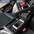 Apto Para Audi A4 B9 Caixa de Armazenamento Central Descanso de Braço consola Braço Luva Pallet Bandeja Bin Titular Styling Recipiente 2016 2017