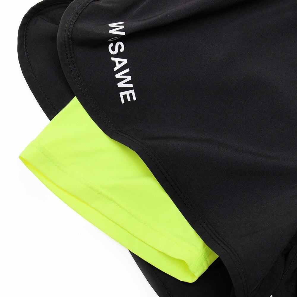 Image 5 - WOSAWE мотоциклетные шорты 2 в 1 мужские s шорты Pantalon для мотокросса мужские горные внедорожные велосипедные шорты с дышащей длинной подкладкой-in Шорты from Автомобили и мотоциклы