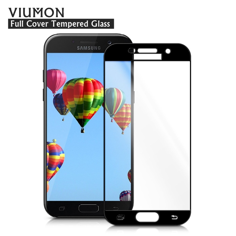 For Samsung A5 2017 Full Cover Tempered Glass For Samsung Galaxy A5 2017 Screen Protector Full Glass Film A520 A520F SM-A520F auricular para solo un oido png