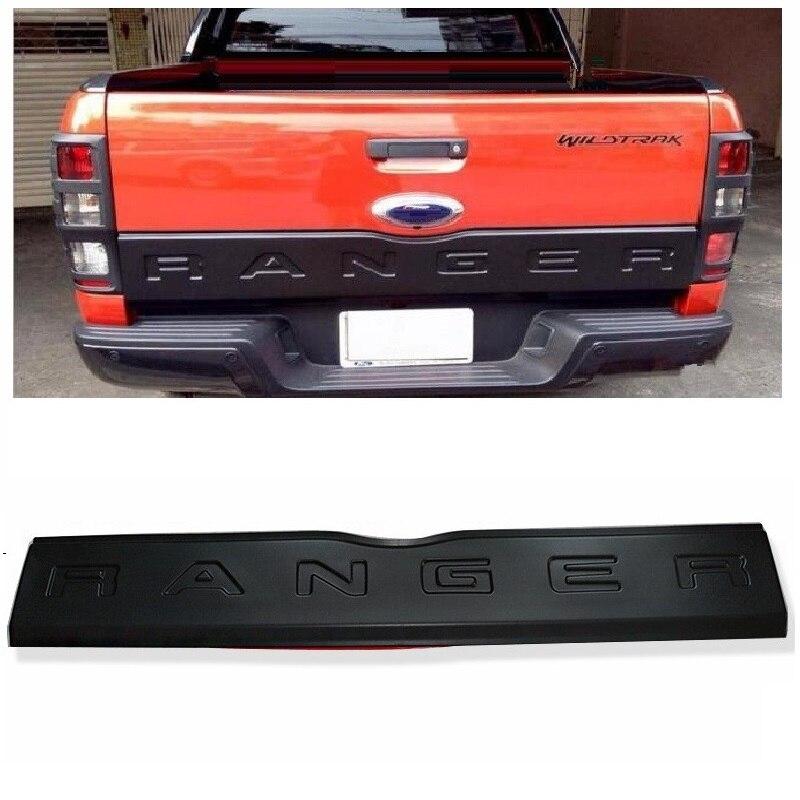 2012-2017 Accessoires Pour Ranger t6 t7 Hayon Garniture Panneau planche de fond Couverture tronc garnitures convient pour Ranger T6 T7 Wildtrak