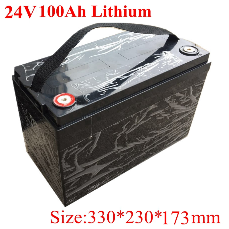 Waterproof 24v 100ah Lithium Ion Battery Electric Bicycle