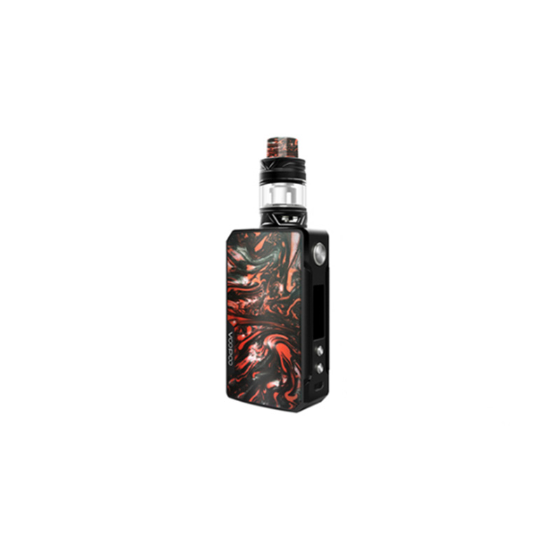 Electronic Cigarette Voopoo Drag 2 177W TC Kit With Uforce T2 SubOhm Tank U2/U3 Powered By Dual 18650 Battery Vape Kit-in Electronic Cigarette Kits from Consumer Electronics    3