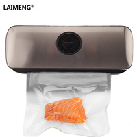 LAIMENG Vacuum Sealing Machine With Free Storage Packaging Food Saver Bags Small Commercial Vacuum Packer Dhl