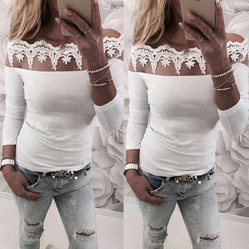блузка со спущенными плечами 6