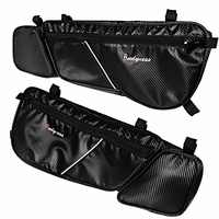 Front Left&Right Driver Side Carbon Door Bags&Pad For 17-18 Can Am Maverick X3