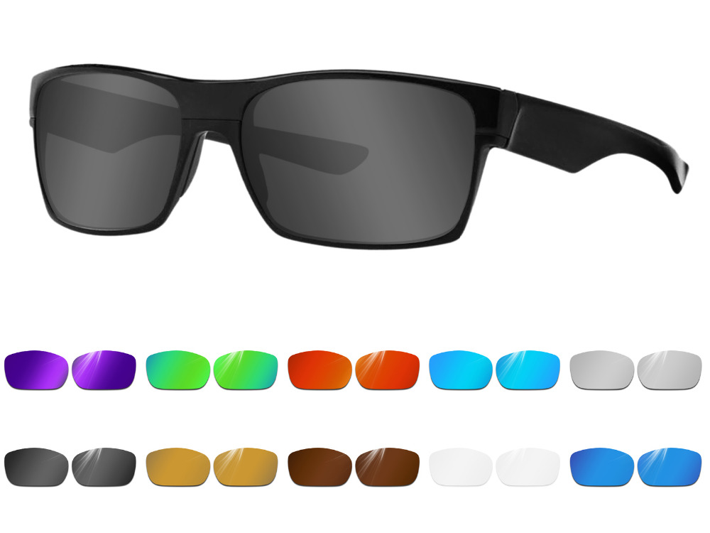 Glintbay Performance Polarized Replacement  Lenses For Oakley Twoface Sunglass - Multiple Colors