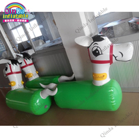 Jumping Toy For Kids Inflatable Horse Cartoon Sex,My Ride On Pony Hop / Little Horse Pony,Inflatable Jumping Horse Racing