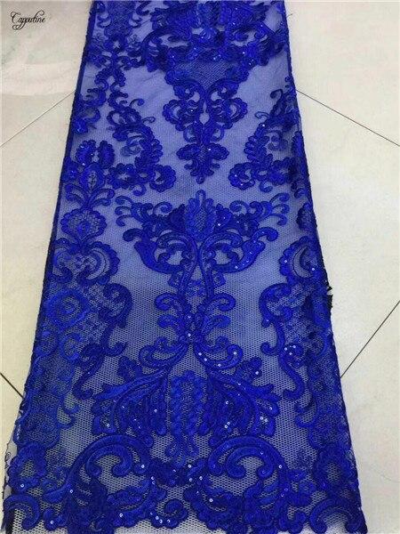 Hoogwaardige borduren Franse netto kant stof hot koop mesh doek voor feestjurk PNZ378 (5 meter/stuk)-in Kant van Huis & Tuin op  Groep 1