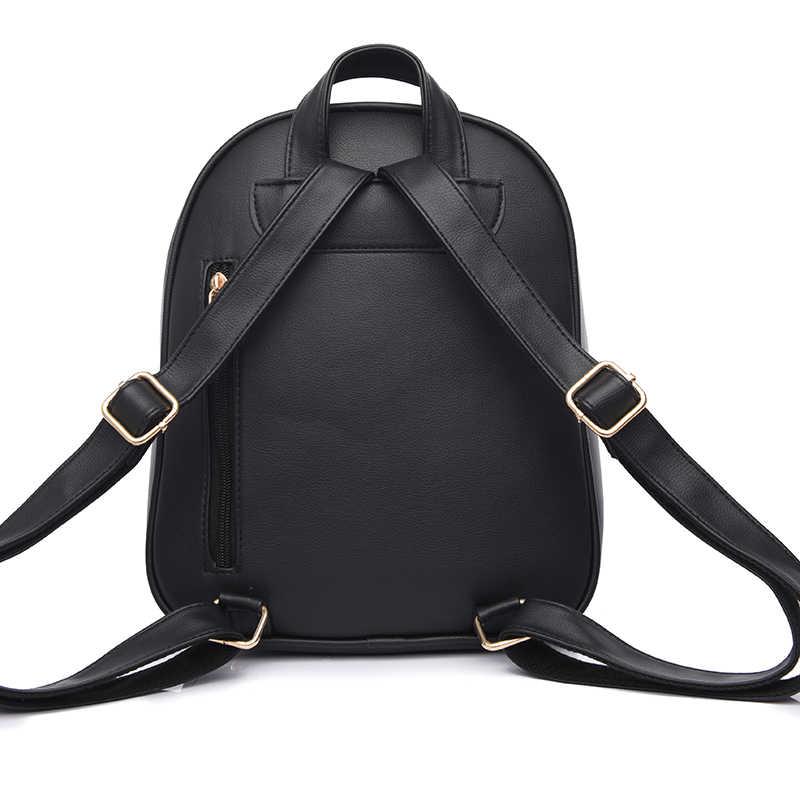 78f77193bab9 ... Toposhine Модный женский рюкзак для девочек 2018 рюкзаки черные рюкзаки  женские модные сумки для девочек Женский ...