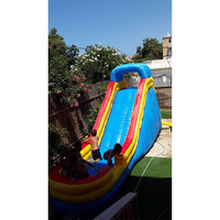 Commercial PVC inflatable pool slides inflatable water slide inflatable slide with pool