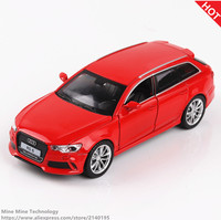 Double Horses 1 32 Scale Diecast Alloy Metal Luxury Car Model Audi RS6 Quattro Collection Model